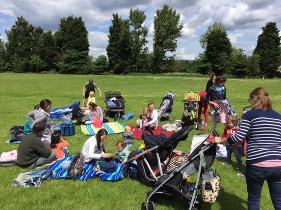 R. family picnic